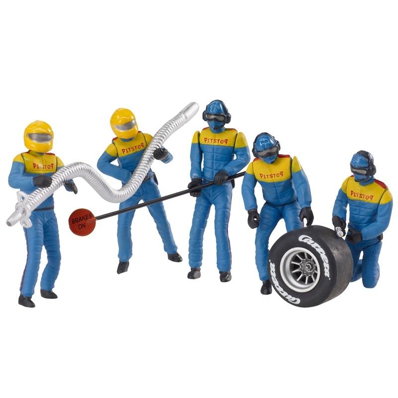 Figurensatz Mechaniker, blau