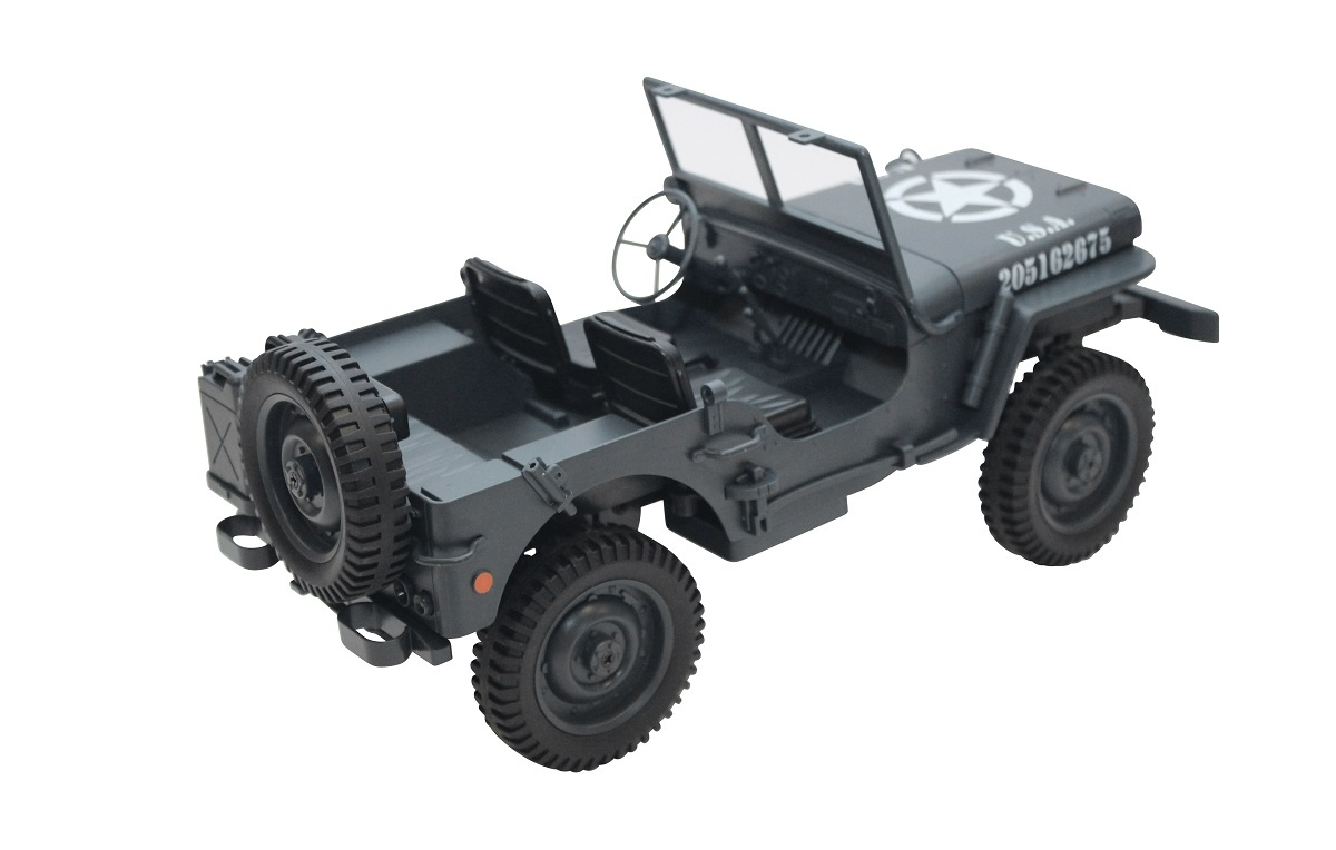 Military Car 1:12 4WD RTR 2,4GHz grau