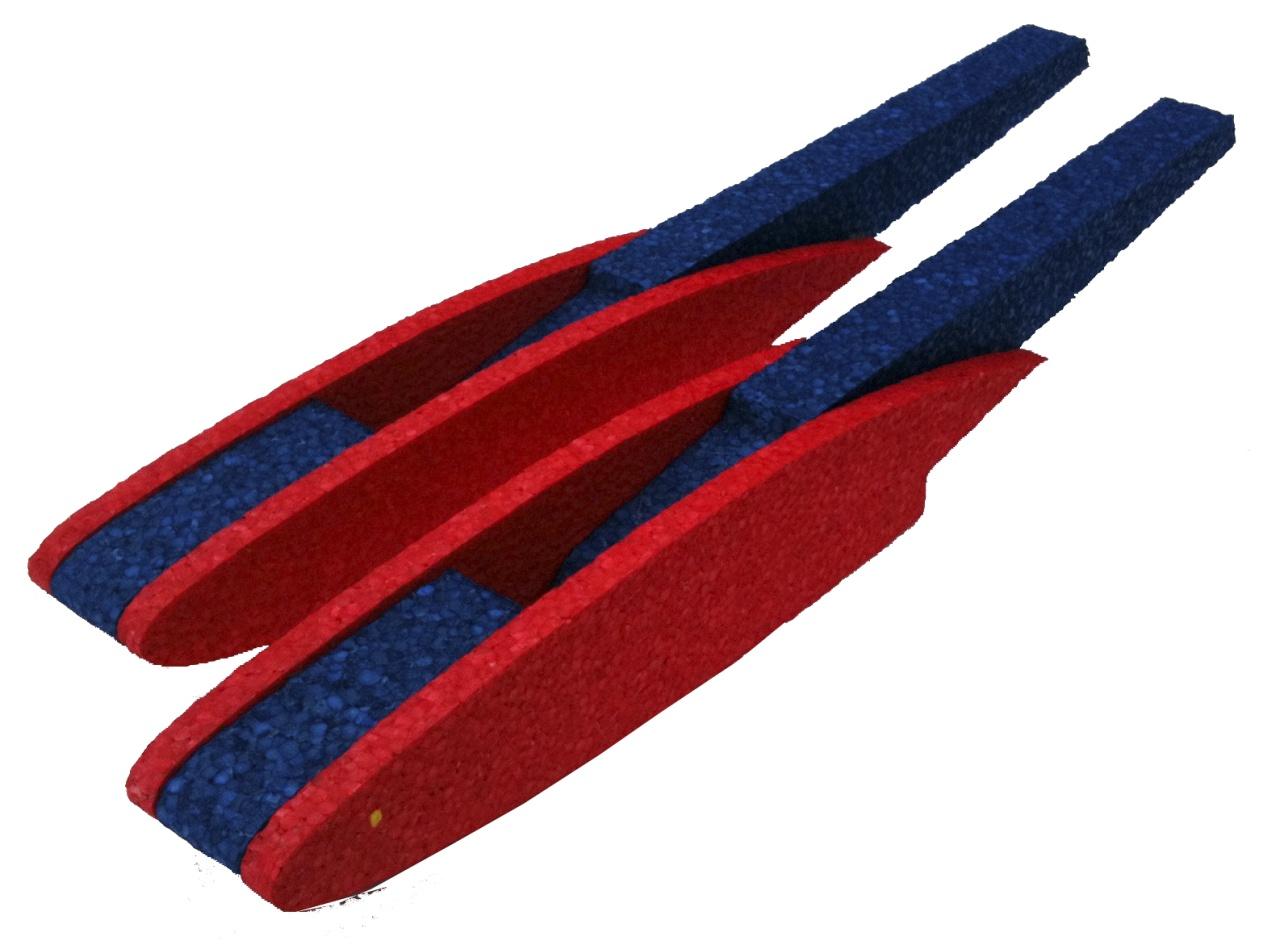 MINIPROP Schwimmersatz Mini Magnum (blau/gelb)