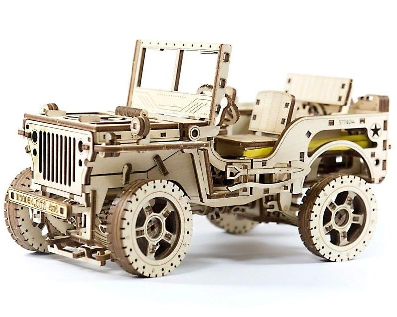 Jeep 4x4 3D-tec Bausatz